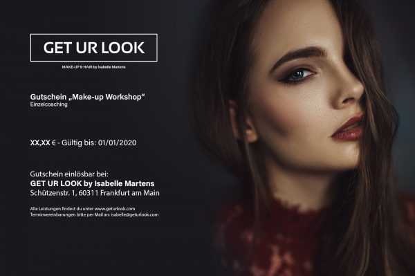 Make-up Workshop Einzelcoaching